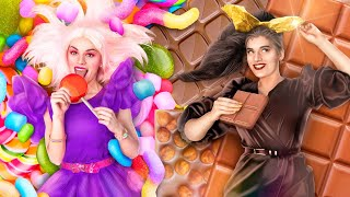 Chocolate Girl vs Candy Girl!