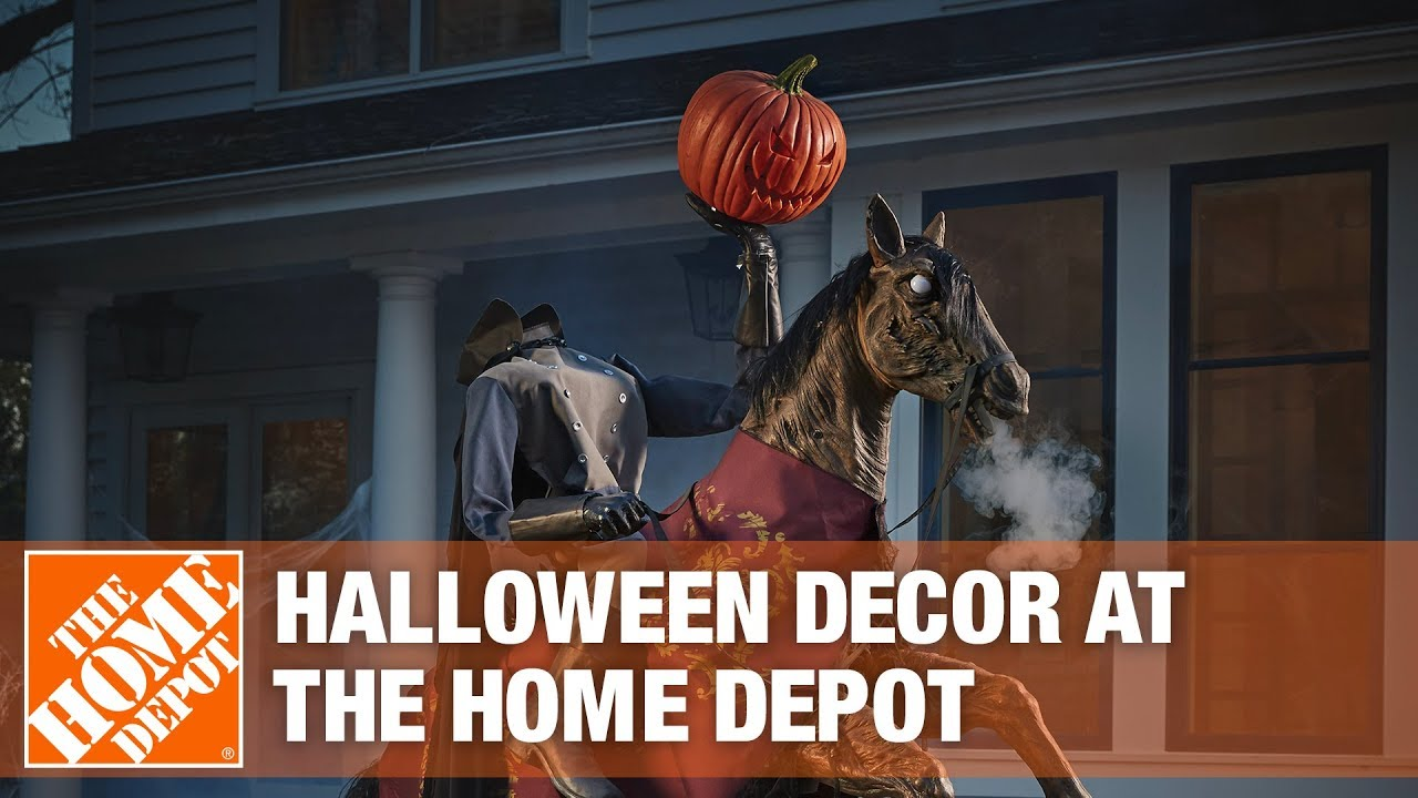 Is Halloween 2020 On Youtube 2019 Halloween Decorations at The Home Depot   YouTube