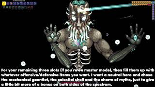 Terraria 1.4; How to defeat the Moon Lord easily in Master Mode! (GUIDE) #Terraria #MasterMode