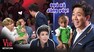Cưng xỉu Trấn Thành - Việt Hương gặp gỡ cậu bé tí hon mang nhiều câu chuyện cảm động