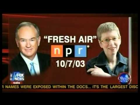 """NPR's """"FRESH DERRIERE"""" Bill O'REILLY catches a WHIFF of Terry Gross aired on 10-7-03 on NPR"""