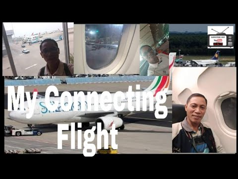 Connecting flights || Airport || Philippines || Singapore ||