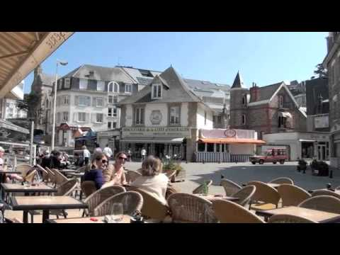 Val Andre Beach & Town