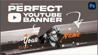 Best Top New YouTube Channel Art PSD | Kaushal Gfx | Photoshop Pro Tutorial #12