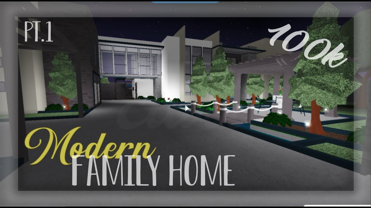 How To Build A Modern Mansion In Bloxburg 50k لم يسبق له مثيل