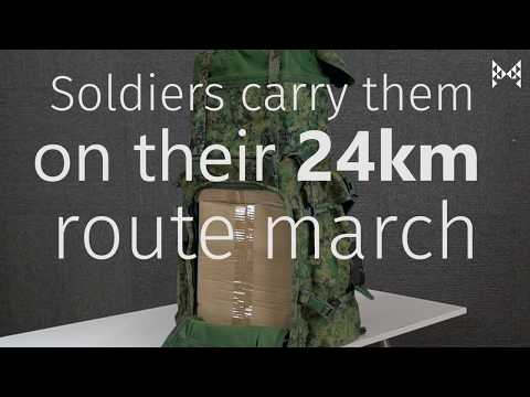 Singaporean Girls Try Carrying SAF Field Packs