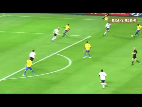 Brazil's All Goal In Five Times Champion In Football World Cup Final
