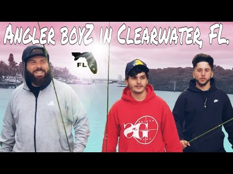 🎣THE BEST SPOT TO FISH IN CLEARWATER, FL. Pt1