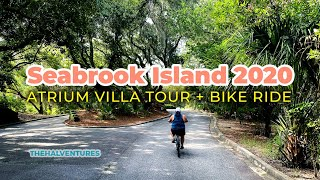 Atrium Villa Tour + Bike Ride | Seabrook Island 2020