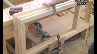Процесс изготовления деревянного окна(В этом видео Вы можете ознакомиться с процессом изготовления деревянной оконной конструкции, начиная с..., 2013-02-19T09:03:58.000Z)