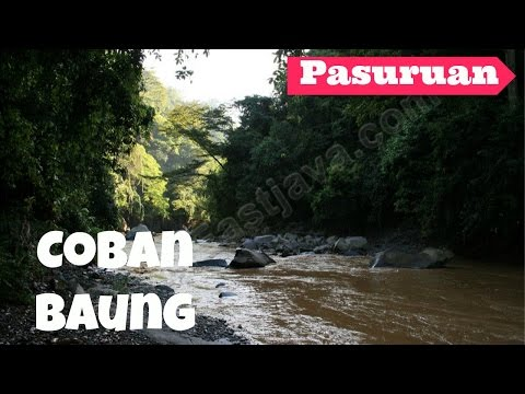 Visiting Coban Baung and See The Natural Sightseeing around Purwodadi, Pasuruan - East Java