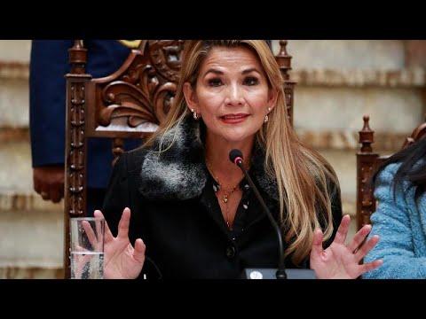 Jeanine Áñez anunció que convocaría elecciones en Bolivia en las próximas horas