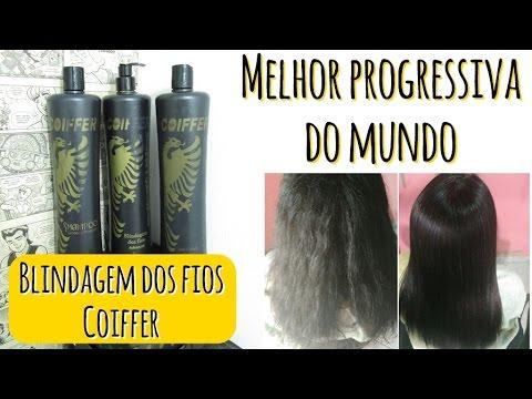 359a493cb Melhor Progressiva do Mundo - Blindagem dos Fios COIFFER (Alisa Qualquer  cabelo)