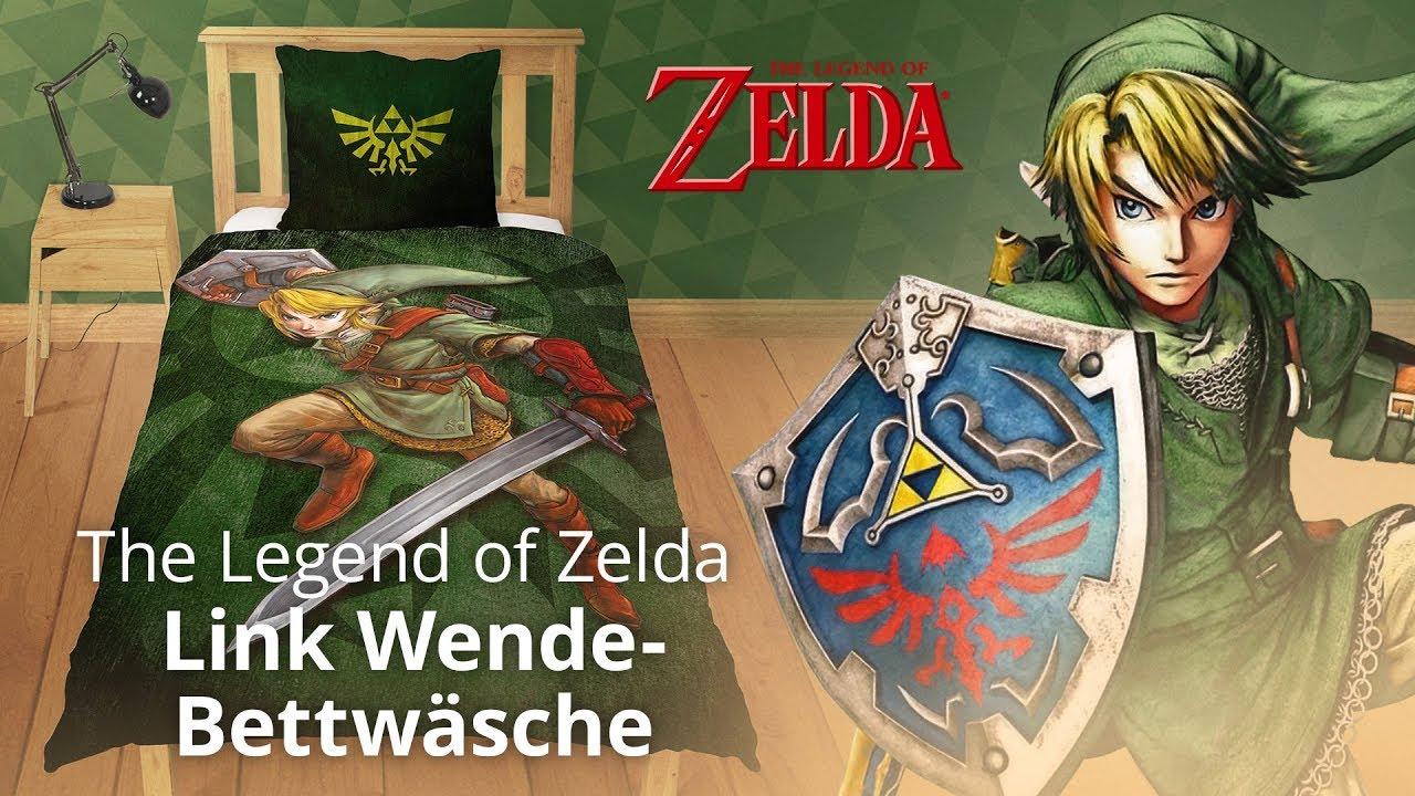 Zelda Link Wende Bettwäsche Elbenwald