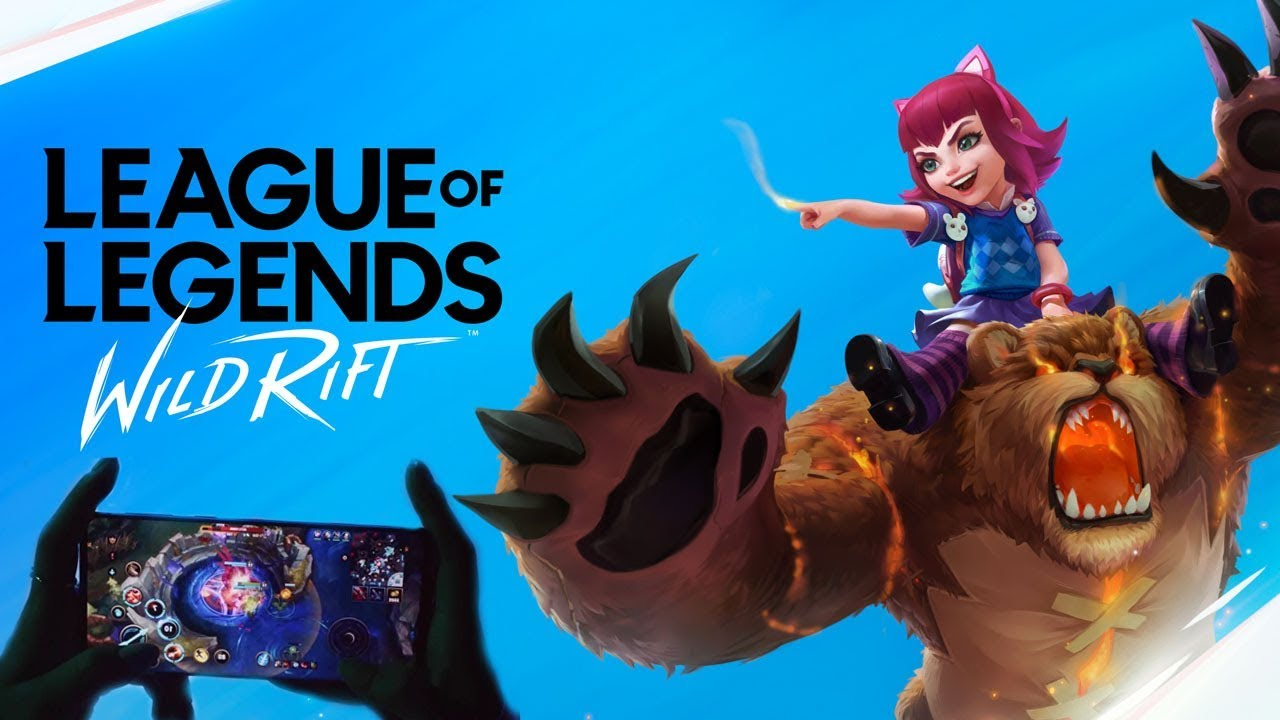 So Riot Invited Me To Try Out Wild Rift Their New Mobile League Of Legends Youtube