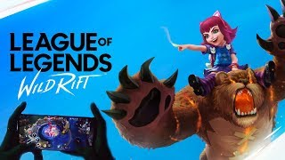So Riot invited me to try out WILD RIFT their new Mobile League of Legends..