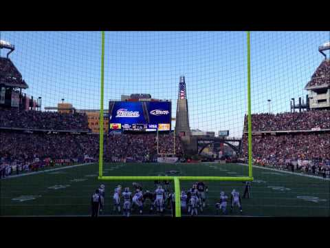 New England Patriots touchdown action in HD