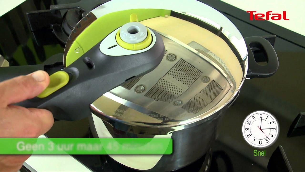 Onwijs Video Tefal snelkookpan Secure 5 Neo - YouTube GQ-04