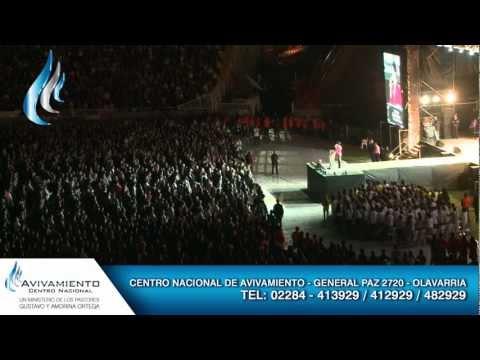 Congreso de Avivamiento en Mar del Plata con los Pastores Rodriguez parte 1/4