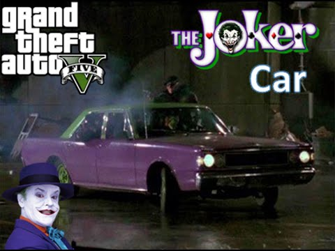 Toy Cars Wallpapers Gta 5 How To Make The Jokers Car Youtube