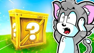 ¡DESAFÍO CON LUCKY BLOCKS EN FORTNITE! 😱😂 - FORTNITE LUCKY BLOCKS