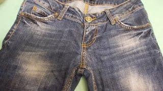 +как зашить джинсы+как зашить дырку.джинсы+с дырками
