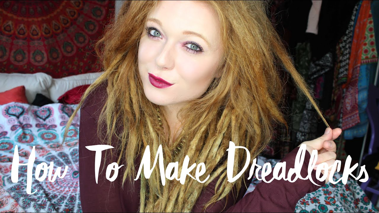 How To Make Dreadlocks - YouTube