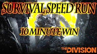 Survival Speed Run: 10 Minute Win