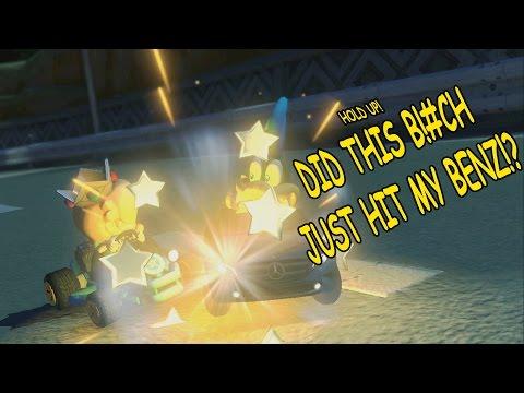 BRUH! Watch the Benz Tho! [Mario Kart 8] [DLC] [Wii U]  [Gameplay]