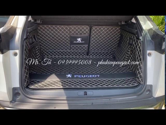 Thảm cốp xe Peugeot 3008 all new cao cấp