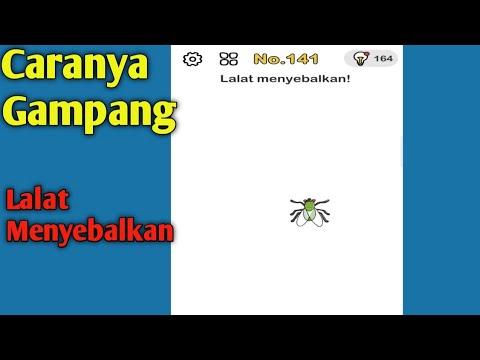 Jawaban Brain Out Level 141 Lalat Menyebalkan Game Brain Out Youtube