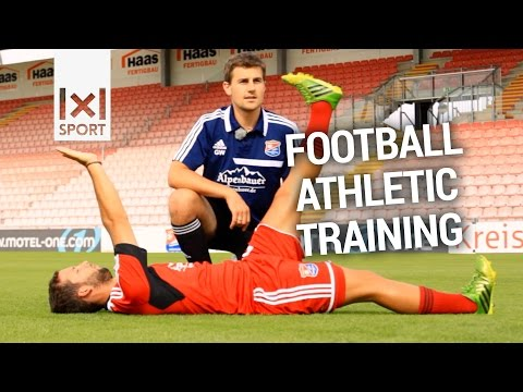 Football Athletic Training - Strength and Fitness Drills of a German Pro Club