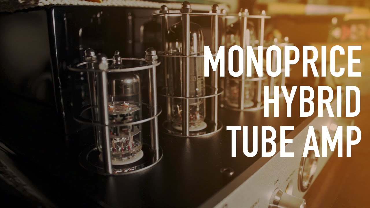 Monoprice Stereo Hybrid Tube Amp with Bluetooth & Speakers - Review