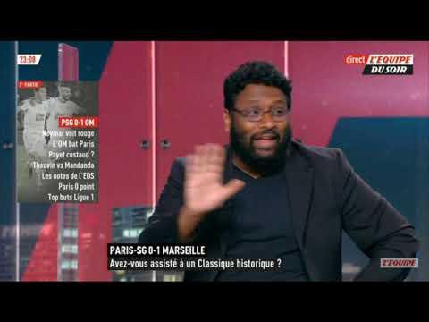 PARIS SG VS MARSEILLE (0-1) DÉBRIEF // L'EQUIPE DU SOIR //