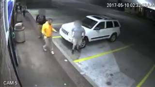 Man sucker punches guy with cerebral palsy.!