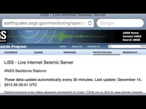 LISS Report: Dec. 14, 2012 6.3 off CA