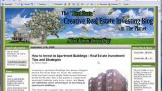 Best Creative Real Estate Investing Blog on the Planet