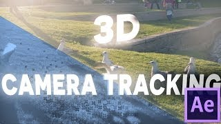 After Effects Basic Tutorial - 3D CAMERA TRACKING