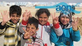 Argentina abre sus brazos a los refugiados sirios. AEN TV 07-09 11HS
