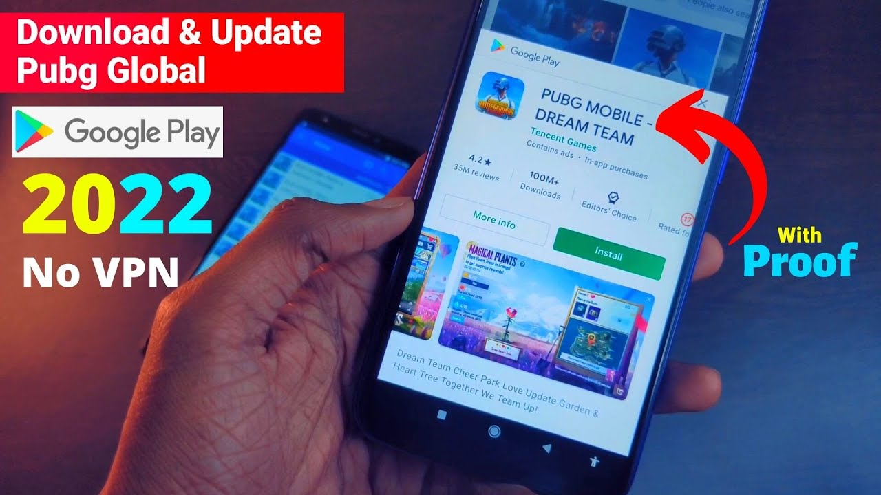 Download Pubg Mobile Global in Play Store 2021   how to download pubg mobile global version   Pubg