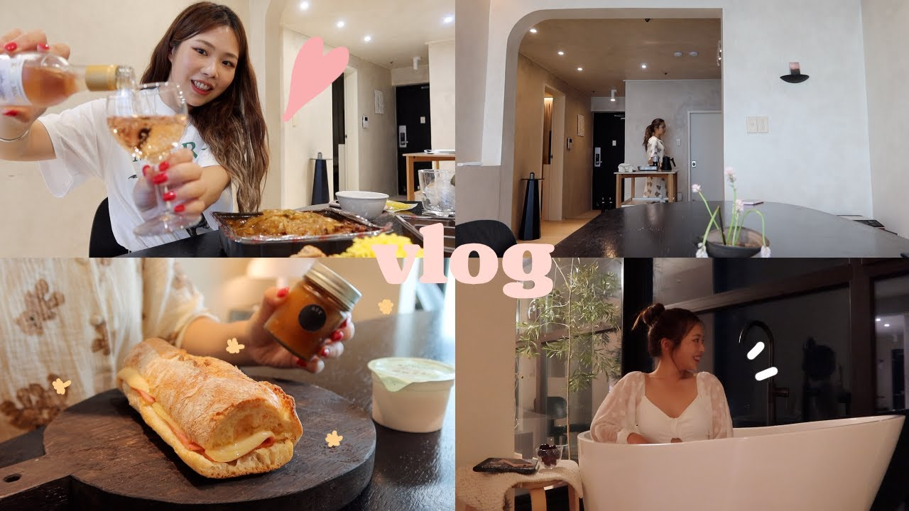 VLOG:: 나 혼자 부산 에캉스 | 마왕족발, 요리해서 먹고 반신욕🛁,혼자놀기 (캐논 G7X Mark3)
