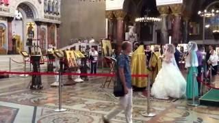 Крондштадт. Венчание в Морском Соборе