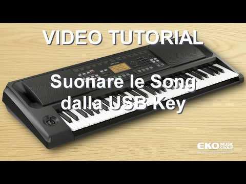 Video Tutorial KORG EK 50 Song Play
