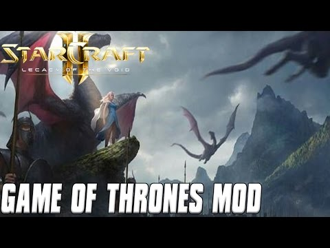 Game of Thrones Mod! - Targaryen Attack - A Song of Fire and Ice Starcraft 2 Mod