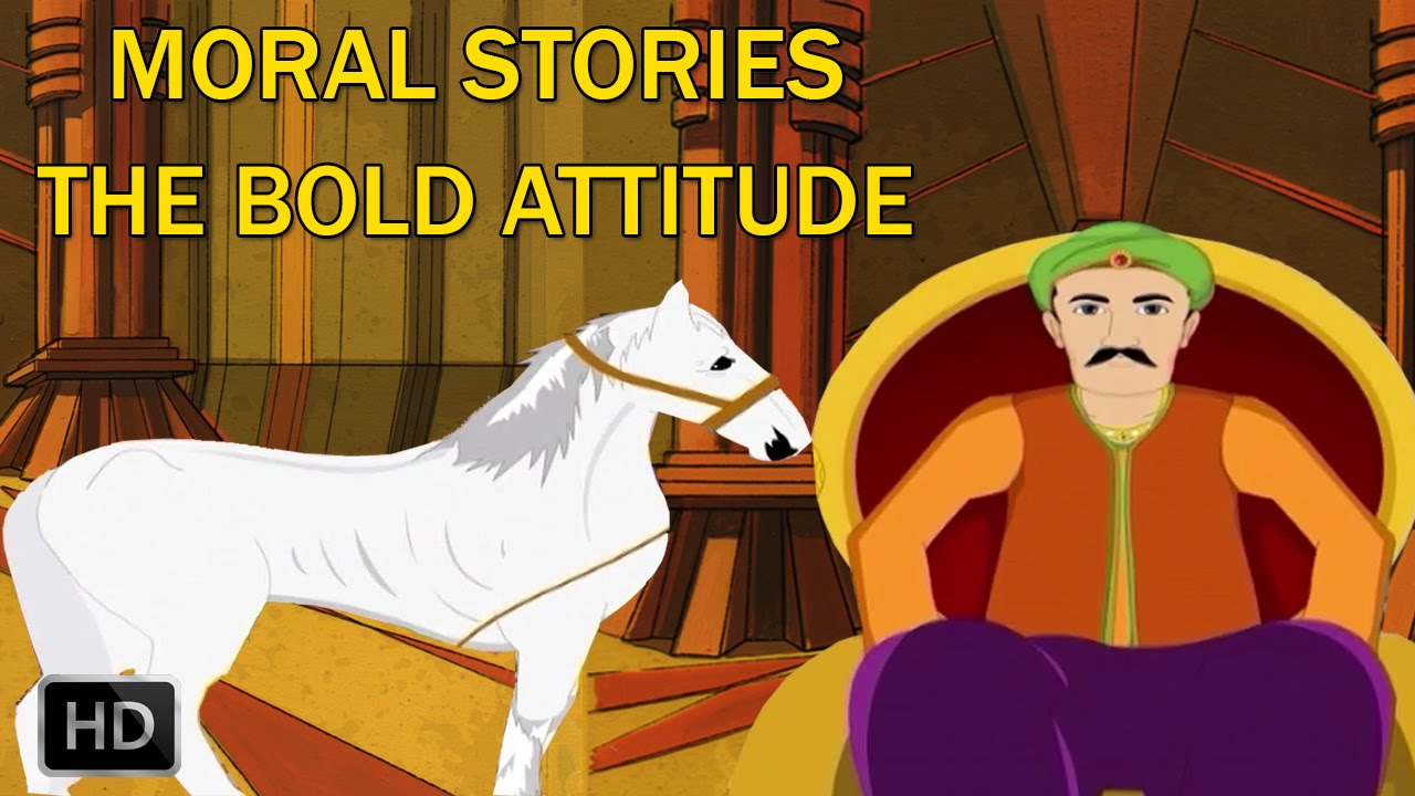 Moral Stories for Children - Animal Stories - The Bold Attitude - Animated  Cartoons - Kids/Preschool