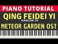 Harlem Yu   Qing Fei De Yi               Piano Tutorial 100  speed