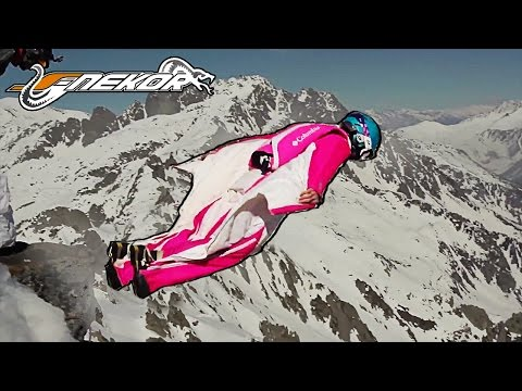 A Crazy WINGSUIT and BASEJUMP Session | FLY 2014