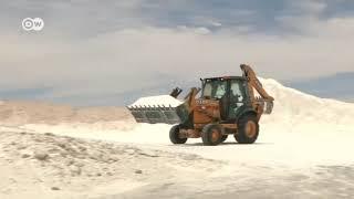 Empresas alemanas extraerán litio de Bolivia
