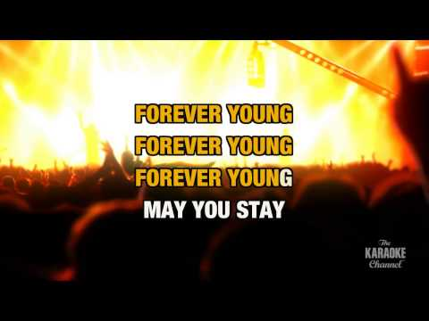 Forever Young in the style of Bob Dylan | Karaoke with Lyrics
