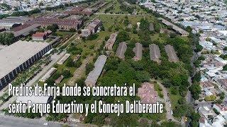 Recorrido predio de Forja donde se construirá el 6° Parque Educativo y el Concejo